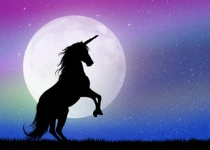 Mondschein mit Einhorn