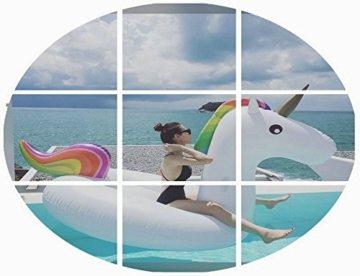 Aufblasbare Einhorn - Pool Schwimmen,Aufblasbare Spielzeug Mit Schnellen Ventilen Schweben -