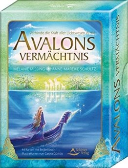 Avalons Vermächtnis: Verbinde die Kraft aller Lichtwesen in dir - 44 Karten mit Begleitbuch -