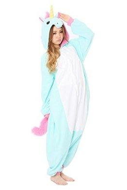Cliont Tier Licorne Pyjamas Kigurumi Nachtwäsche Nachtwäsche Kostüm Anime Cosplay Weihnachten Einhorn Onesie -