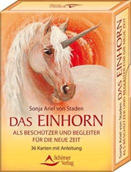 Das Einhorn als Beschützer und Begleiter für die Neue Zeit (Kartenset mit Anleitung) -