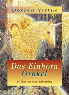 Das Einhorn Orakel - 44 Karten mit Anleitungsbuch -