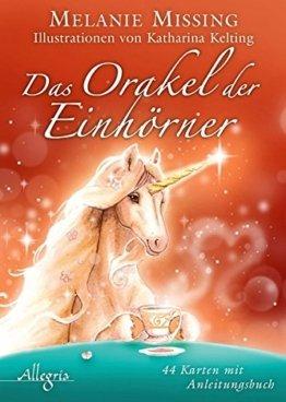 Das Orakel der Einhörner: 44 Karten mit 160 S. Begleitbuch -