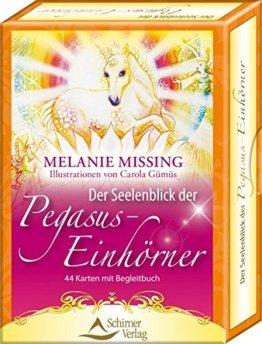 Der Seelenblick der Pegasus-Einhörner - 44 Karten mit Begleitbuch -