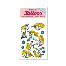 Einhorn / Einhörner Tattoos von Lutz Mauder // Kinder Kindertattoo Tatoo Tatto Kindergeburtstag Geburtstag Mitgebsel Geschenk -