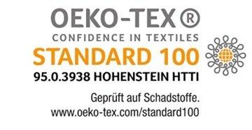 Einhorn flieder Regenbogen ido Biber Bettwäsche 2tlg. 135x200 cm und 80x80 cm made in Germany 673798 -