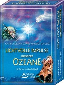 Lichtvolle Impulse unserer Ozeane: 46 Karten mit Begleitbuch -