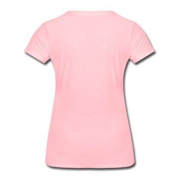 Man Widerspricht Dem Einhorn Nicht Frauen Premium T-Shirt von Spreadshirt®, M, Pink -