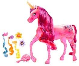 Mattel Barbie BLP40 - Barbie und die geheime Tür Einhorn, inklusive Haar-Accessoires -