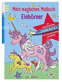 Mein magisches Malbuch Einhörner -