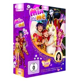 Mia and Me: Box 1.2 - Staffel 1, Folge 14-26 [3 DVDs] -