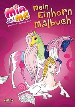 Mia and me - Mein Einhorn-Malbuch -