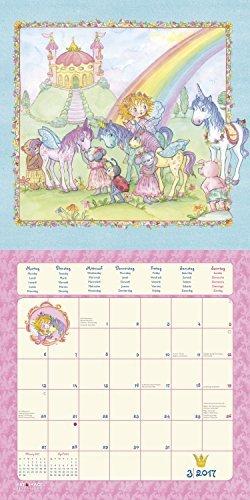 Prinzessin Lillifee 2017 - A&I Kinderkalender, Prinzessinnen Kalender, Kalender für Mädchen - 30 x 30 cm -