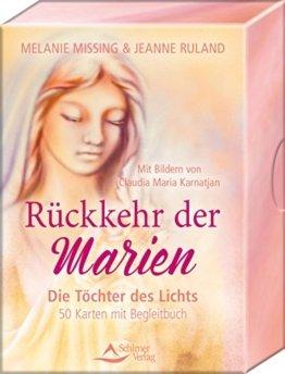 Rückkehr der Marien: Die Töchter des Lichts - 50 Karten mit Begleitbuch -
