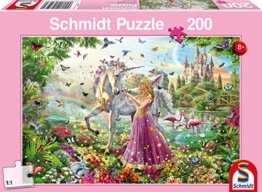Schmidt Spiele 56197 Schöne Fee im Zauberwald Puzzles, 200 Teile -