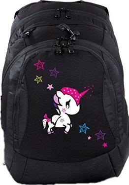 Schulrucksack Teen Compact Schultasche Rucksack Einhorn Unicorn funny -