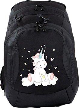Schulrucksack Teen Compact Schultasche Rucksack Unicorn Einhorn cutie -
