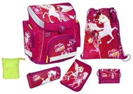 Scooli Schulranzen Set Campus Plus Mia and Me 2015, 6 teilig -