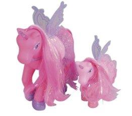 Simba 105945234 - My Sweet Pony, Einhorn, zwei Ponies, mit Flügel, 3 - sort. -