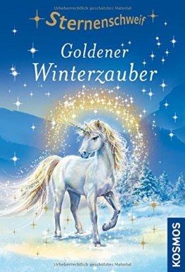 Sternenschweif, 51, Goldener Winterzauber: Jumboband mit zauberhaftem Bügelbild -