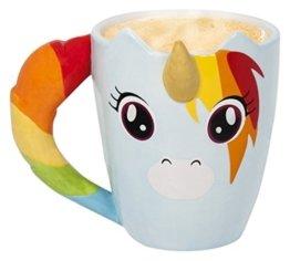 Thumbs Up Unimug Unicorn Tasse Tasse Einhorn Keramik mehrfarbig 11x 10,5x 11cm -