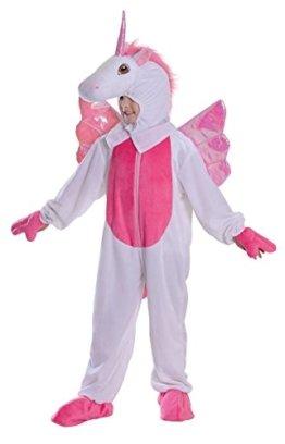 Unicorn - Kinder Kostüm - Medium -128cm -