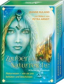 Zauber der Naturreiche: Naturwesen - wie sie uns behüten und beschützen, 50 Karten mit Begleitbuch -