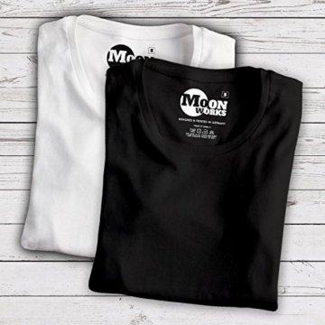 Damen T-Shirt Einhorn auf Schaukel