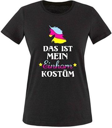 EZYshirt® Das ist mein Einhorn Kostüm Damen Rundhals T-Shirt -