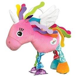 """Lamaze Baby Spielzeug """"Ella das Einhorn"""" Clip & Go - hochwertiges Kleinkindspielzeug - Greifling Anhänger zur Stärrkung der Eltern-Kind-Bindung - ab 0 Monaten -"""
