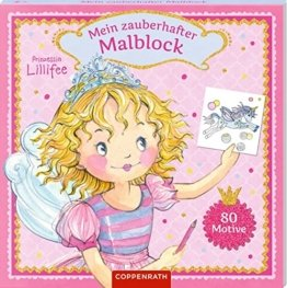 Prinzessin Lillifee: Mein zauberhafter Malblock: 80 Motive -