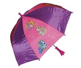 Schirm Filly Pferd - Kinderschirm Kinder Stockschirm Regenschirm - Einhorn Magic Pferde rosa Mädchen -