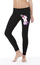 Drinking Unicorn Legging Girls Black Certified Freak-L -