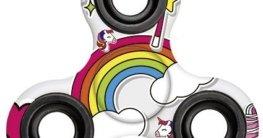 Einhorn Fidget Spinner, Unicorn Hand Spinner, Finger Spinner für Erwachsene und Kinder -