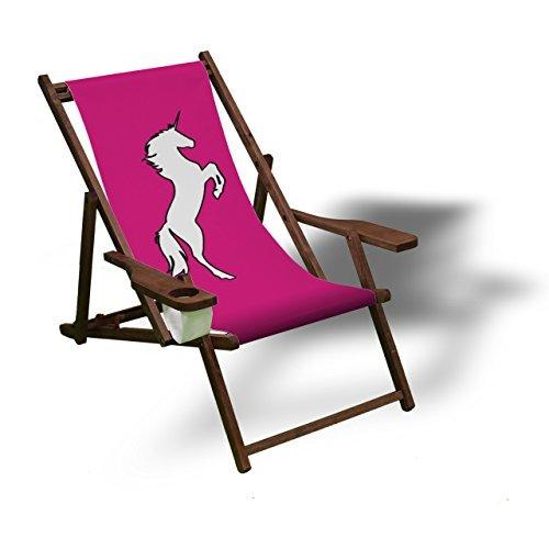 Einhorn Liegestuhl