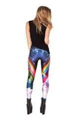 Original-Design estress Tattoo Leggings Galaxy Sterne Print Style Comic Destroy Graffiti Muster Galaxy DDK10485 -