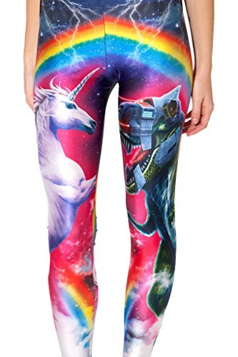 Original-Design estress Tattoo Leggings Galaxy Sterne Print Style Comic Destroy Graffiti Muster Galaxy DDK10485 -