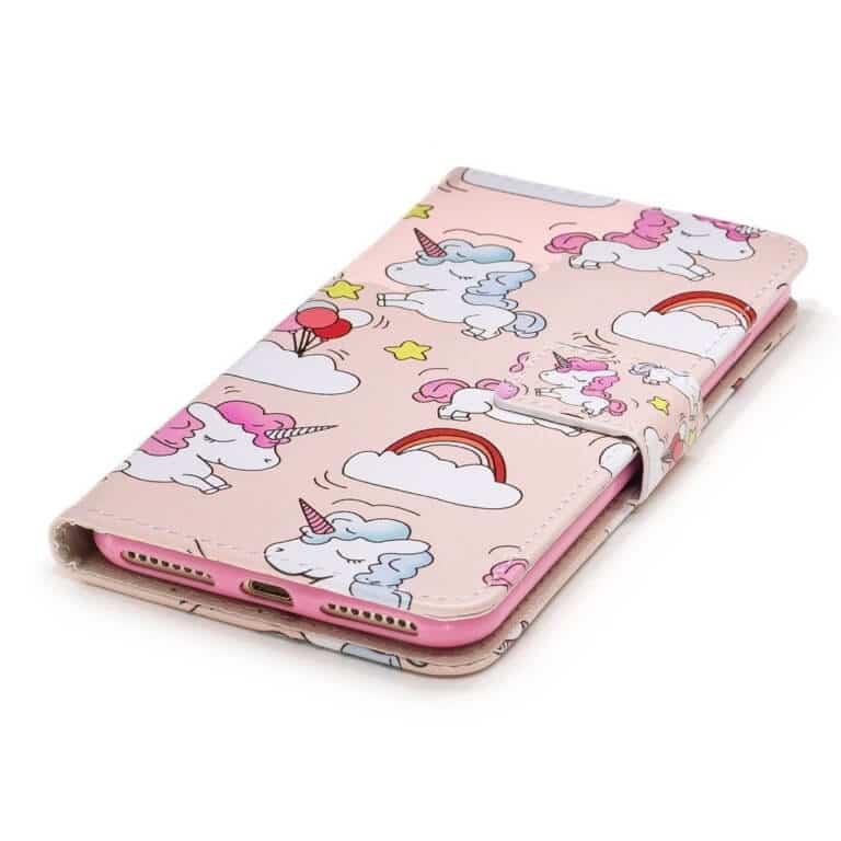 Einhorn Handhülle rosa