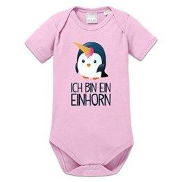Ich bin ein Einhorn Baby Strampler by Shirtcity -