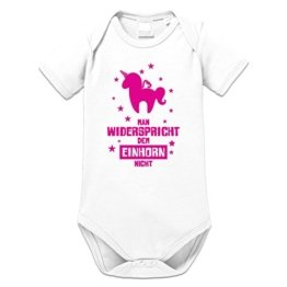 Man widerspricht dem Einhorn nicht Baby Strampler by Shirtcity -