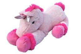 XXL Einhorn Plüschtier ca. 110 cm große Kuscheltier rosa pink Stofftier -