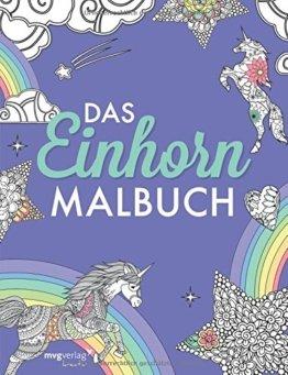 Das Einhorn-Malbuch -