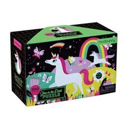 Unicorns Glow-In-The-Dark Puzzle -
