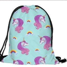 Yinew Einhorn Shopping Schutzgürtel Drawstring Umhängetasche Reisetasche Gepäck Tragetasche Tasche Für Schulreise Einhorn Tasche Kordelzug -
