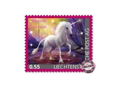 Einhorn Briefmarke